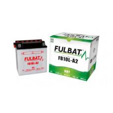 BATERIA FULBAT YB10L-A2  Eletrólito Incluído