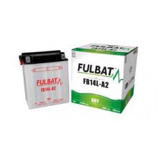 BATERIA FULBAT YB14L-A2  Eletrólito Incluído