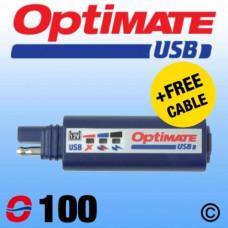 O100  Carregador USB