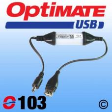 O103 Carregador USB DC PLUG