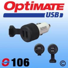 O106 USB Carregador CIG PLUG
