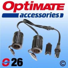 O26 SAE 2x Socket Cig