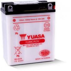 BATERIA YUASA YB12A-B Eletrólito Incluído