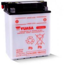 BATERIA YUASA YB14A-A2  Eletrólito Incluído