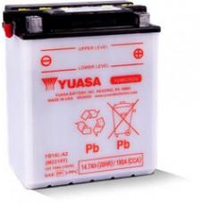 BATERIA YUASA YB14 L-A2 <br>Eletrólito Incluído