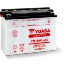 BATERIA YUASA YB16 AL-A2  Eletrólito Incluído