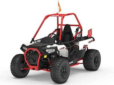 Polaris ACE 150  WHITE LIGHTNING  INDIAN SKY BLUE