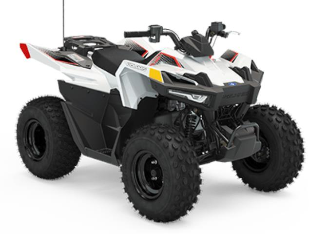 Polaris Outlaw 70   Bright White Indy Red