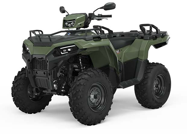 Polaris Sportsman 570 EPS  Sage Green TRATOR