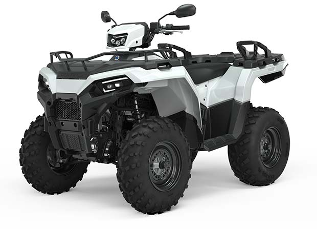 SPORTSMAN 570 EPS WHITE TRATOR