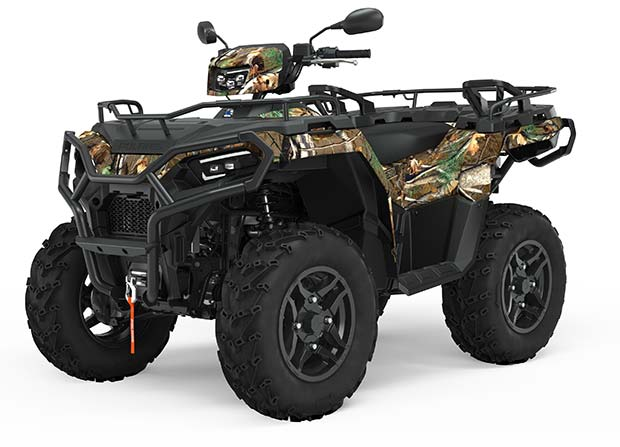 SPORTSMAN 570 EPS HUNTER SE PURSUIT CAMO TRATOR