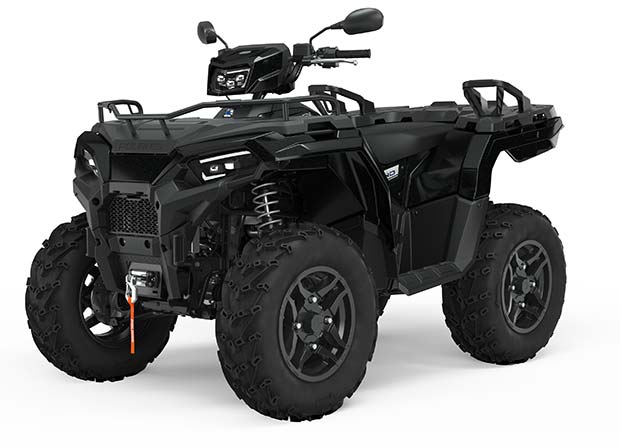 Polaris Sportsman 570 EPS  Black Pearl SE TRATOR
