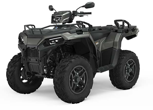 Polaris Sportsman 570 EPS SP  Titanium Metallic TRATOR