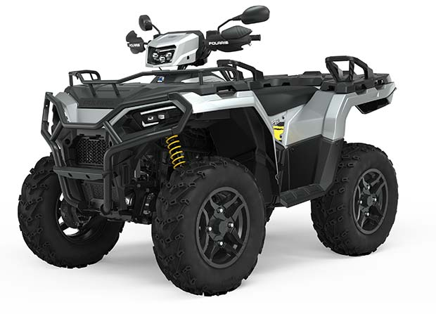 Polaris Sportsman 570 EPS SP Ohlins  Turbo Silver TRATOR