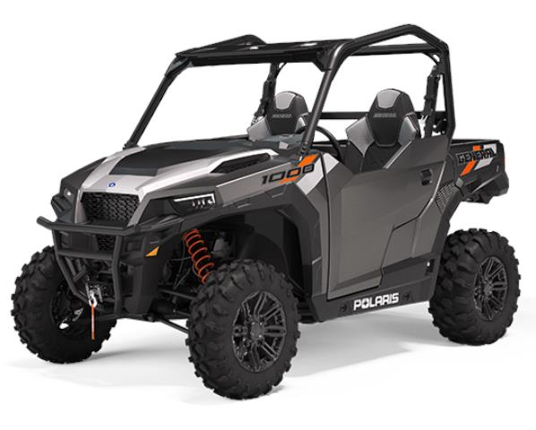 Polaris General 1000 EPS  Titanium Gloss TRATOR ABS