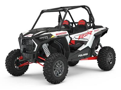 Polaris RZR 64 XP 1000 EPS  WHITE LIGHTNING TRATOR