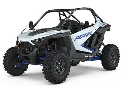RZR 64 PRO XP TURBO DYNAMIX - WHITE LIGHTNING QUAD