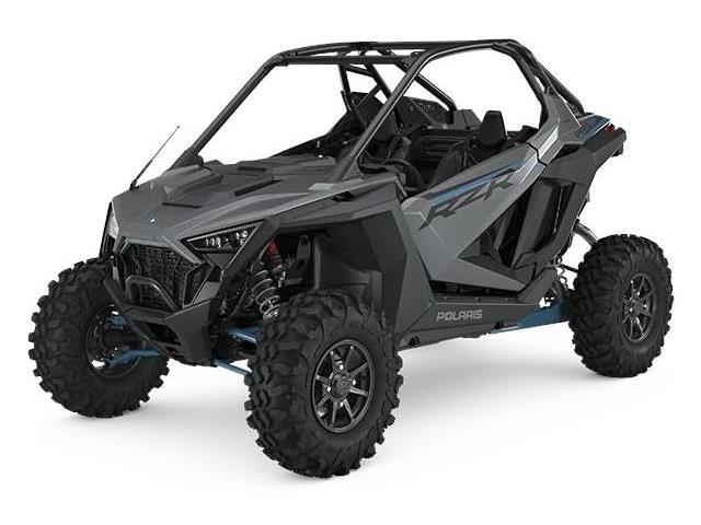 Polaris RZR 64 Pro XP Ultimate MatteTitanium Metallic Quad